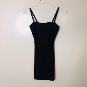 SPANX Black Shapewear Slip Girdle. Size Small